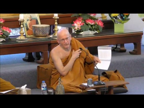 Sutta Study | Five Daily Recollections | Ajahn Nissarano