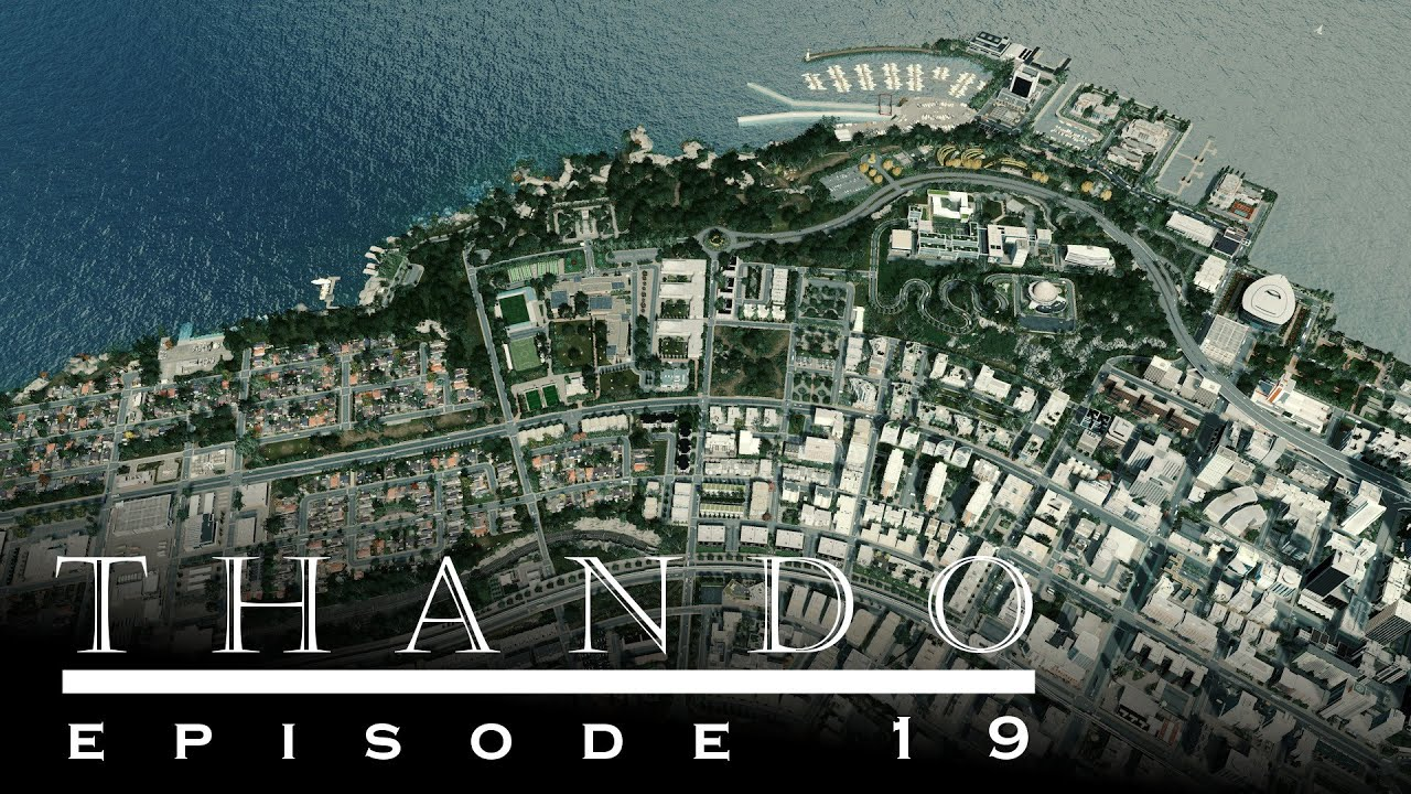 Download Cities Skylines - Thando: 19 - The expanded river shore area