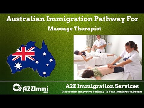 Massage Therapist | 2020 | PR / Immigration Requirements For Australia