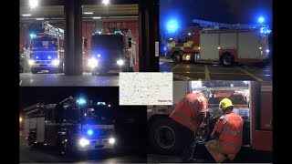 HUGE Response To Fire In High-rise Building - Greater Manchester Fire & Rescue Service