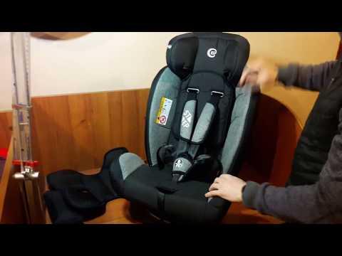 Автокресло El Camino 1017  до 36 кг 4в1 - Anuka.com.ua