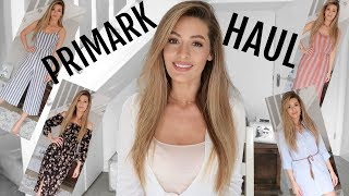 PRIMARK HAUL AND TRY ON MARCH 2018 SPRING NEW IN