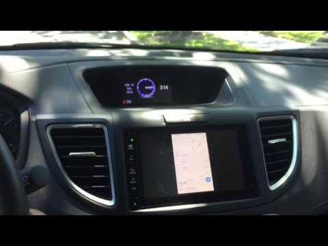 2015 Honda CRV Touring - IPhone Mirroring Via HDMI While Driving