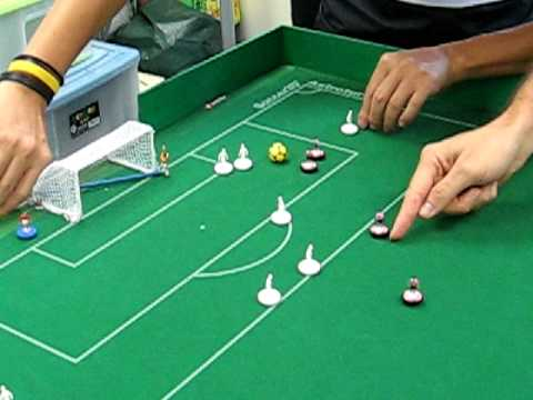 & Table Football Subbuteo - YouTube