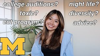 THE TRUTH ABOUT COLLEGE MUSICAL THEATRE (Q&A)
