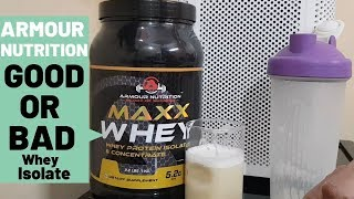 Armour Nutrition Maxx Whey Isolate And Concentrate! Best Budget Whey Isolate