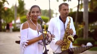 Wedding music at Dreams Palm Beach, Punta Cana