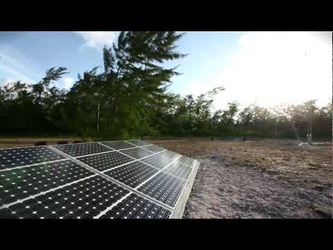 Systems Interface - Solar Powered NDB, Agalega Island, Mauritius