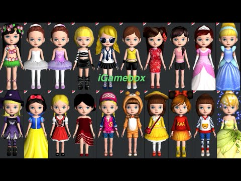 """Ava the 3D Doll """"ALL Ava Stars' Dancing"""" Gameplay makeover for Kid. Ep.22"""