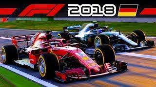 F1 2018 Hockenheimring | Sebastian Vettel | Let's Play Formel 1 Deutsch Gameplay German