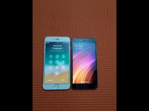 Iphone 6 Plus Vs Xiaomi Redmi Note 5a - Speed Test Comparison!!