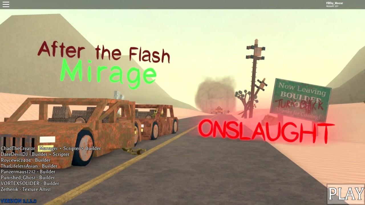roblox   flash mirage onslaught event menu