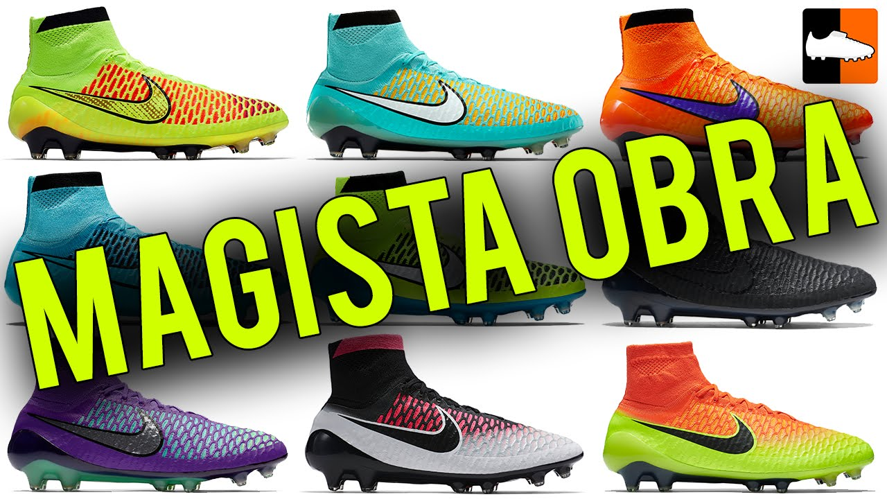 299b176074fe Complete Magista Obra History Nike Football Boots - YouTube