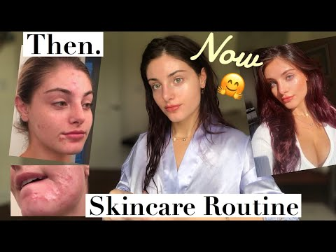 Guys...I finally figured it out! 👏🏼 skincare routine for flawless skin w/ NO FACE WASH!
