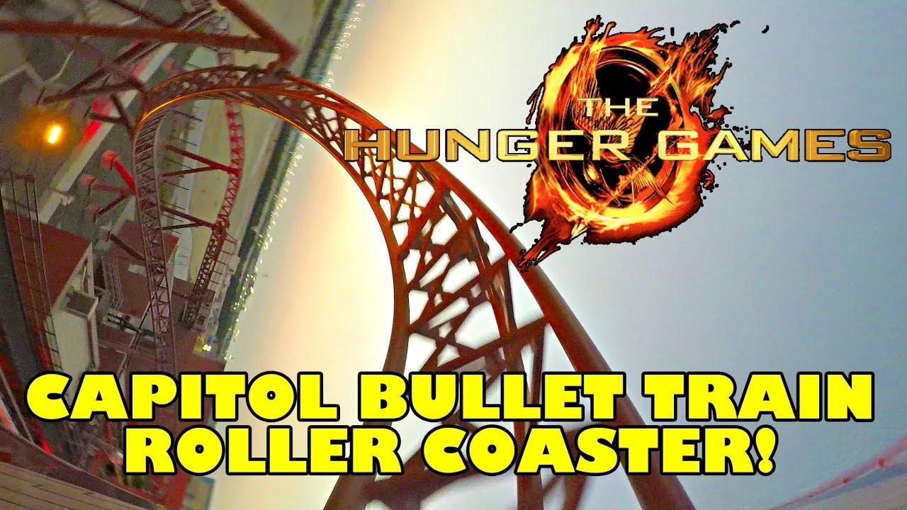 Hunger Games Roller Coaster! Multi Angle POV! Capitol ...