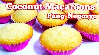 COCONUT MACAROONS | How to Make Macaroons | FILIPINO DESSERT | PANG NEGOSYO DESSERT #LECHEROONS