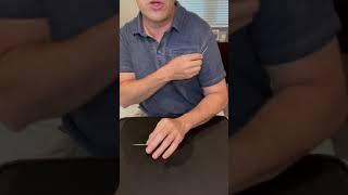 Jumping toothpick tutorial #shorts