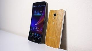 Curved and Wood Phones? Moto X & LG G Flex