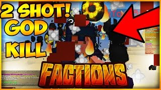 """""""TWO SHOT GOD KILL!"""" Minecraft Factions   Cosmic Pvp   Fallout   #19"""