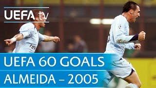 Hugo Almeida v Inter, 2005: 60 Great UEFA Goals