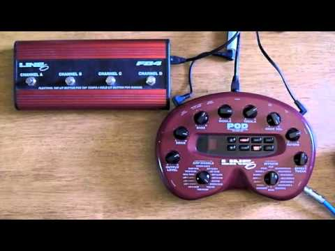 Line 6 Pod 2 0 Demo Youtube