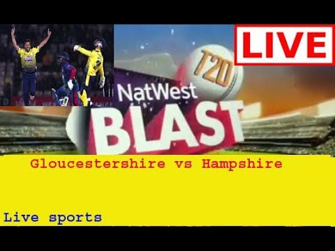 Gloucestershire vs Hampshire,Natwest T20  South Group - Live Cricket Score, Commentary 28 JULY 2017