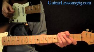 The Beatles - Something Guitar Lesson Pt.1 - All Chords, Rhythms & Fills