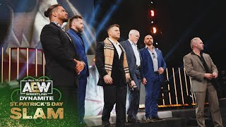 MJF Introduces the World to the Pinnacle   AEW Dynamite St. Patrick's Day Slam
