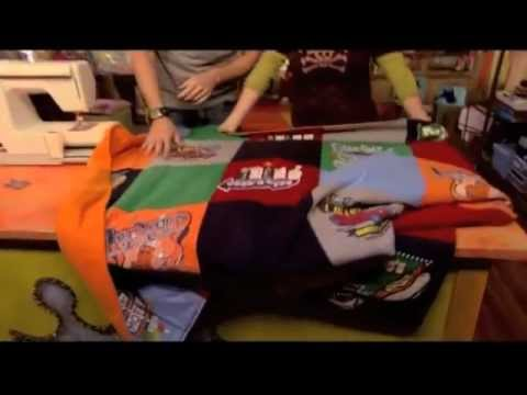 How To Sew T Shirt Blankets How To Make
