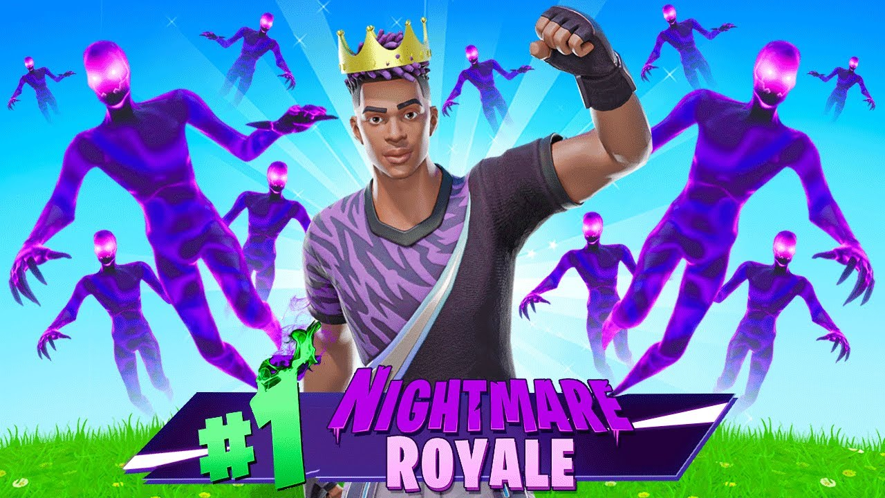 I made a SHADOW ARMY to WIN in Fortnite! (Halloween Update)