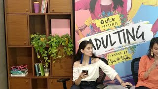 Dice Media | Adulting | Web Series | Live With Pipa Bella Ft. Aisha & Yashaswini
