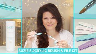 Introducing Suzie's Own Acrylic Brush & File Kit ❤️