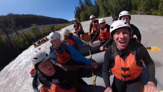 Story of Rafting the Kicking Horse River from Go Pro Ambassador: Bare Kiwi