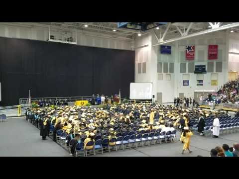 2016 Uniondale High School graduation ending