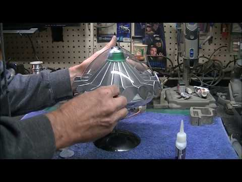 U.F.O. TV Series Alien Flying Saucer Build Finale