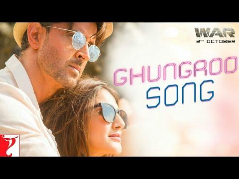 Download Ghungroo Song - War   Hrithik Roshan, Vaani Kapoor   Vishal and Shekhar ft, Arijit Singh, Shilpa Rao