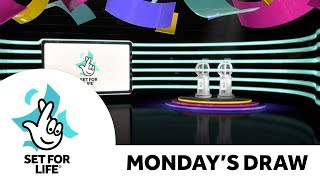 The National Lottery 'Set For Life' draw results from Monday 14th October  2019