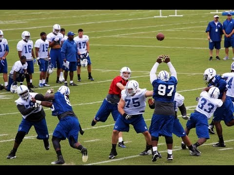 Colts Training Camp 2013
