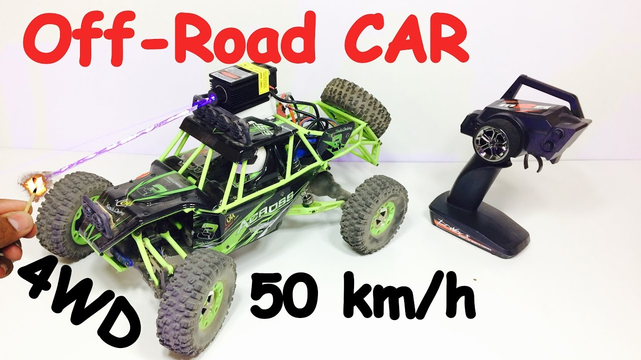 off road rc car 50 km h speed 4 wheel drive 1 12 scale. Black Bedroom Furniture Sets. Home Design Ideas