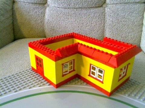 Lego House Construction - YouTube
