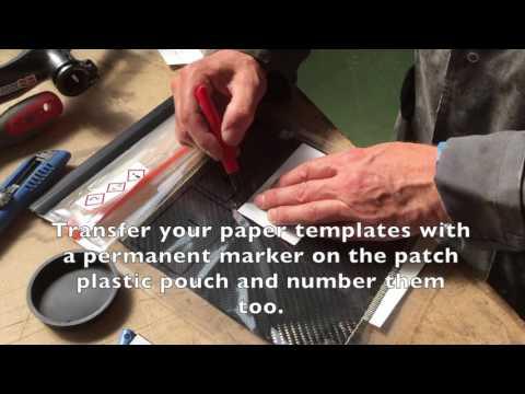 How to repair a carbon fibre bike