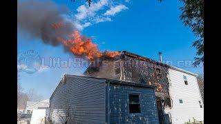 04/18/2018 Mastic Beach House Fire