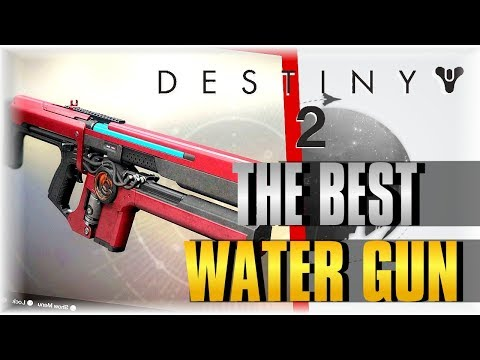 THE BEST WATER GUN!!! | DESTINY 2 | URIEL'S GIFT Review