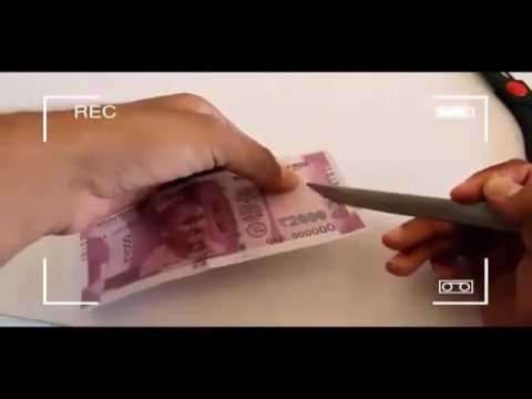 Micro chip in 2000 rs note 100% proven
