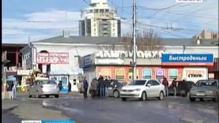 На красноярском автовокзале разгорелась война между водителями таксофирмы и частными извозчиками
