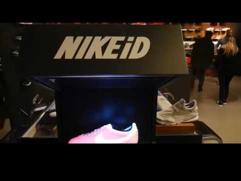 Nike Store In Paris Lets Customers Test Sneaker Colors Using Augmented Reality