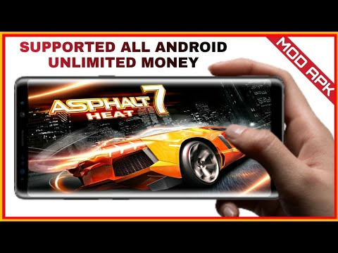 ASPHALT 7 HEAT MOD UNLIMITED MONEY HIGHLY COMPRESSED APK+OBB Download For All Android With GAMEPLAY