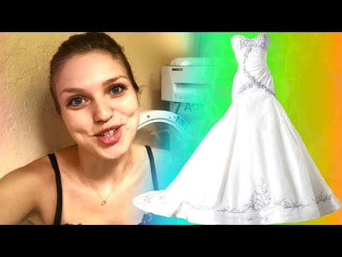 Как отбелить платье в домашних условиях