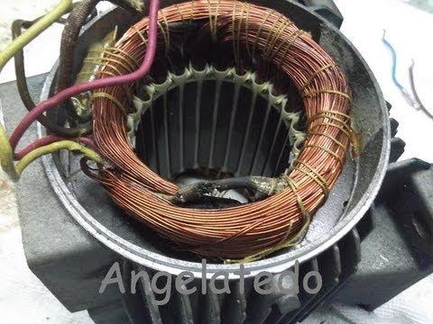 Aver 237 A En Motor De Compresor De Aire Conexi 243 N En Devanado