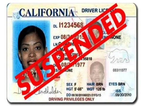 I'M DRIVING WITH A REVOKED DRIVER'S LICENSE!
